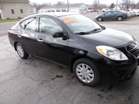 2014 Nissan Versa for sale at Dansville Radiator in Dansville NY