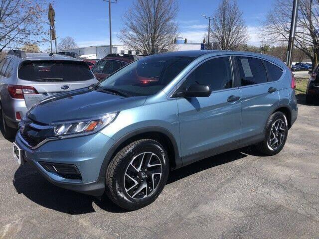 2016 Honda CR-V for sale at BATTENKILL MOTORS in Greenwich NY