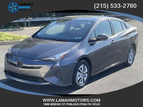 2017 Toyota Prius for sale at LAMAH MOTORS INC in Philadelphia PA
