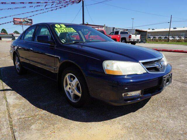 2003 Acura TL for sale at BLUE RIBBON MOTORS in Baton Rouge LA