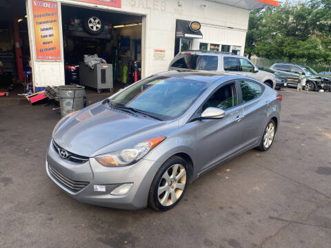 2012 Hyundai Elantra for sale at Vuolo Auto Sales in North Haven CT