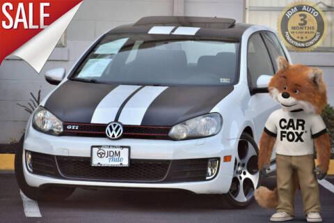 2011 Volkswagen GTI for sale at JDM Auto in Fredericksburg VA