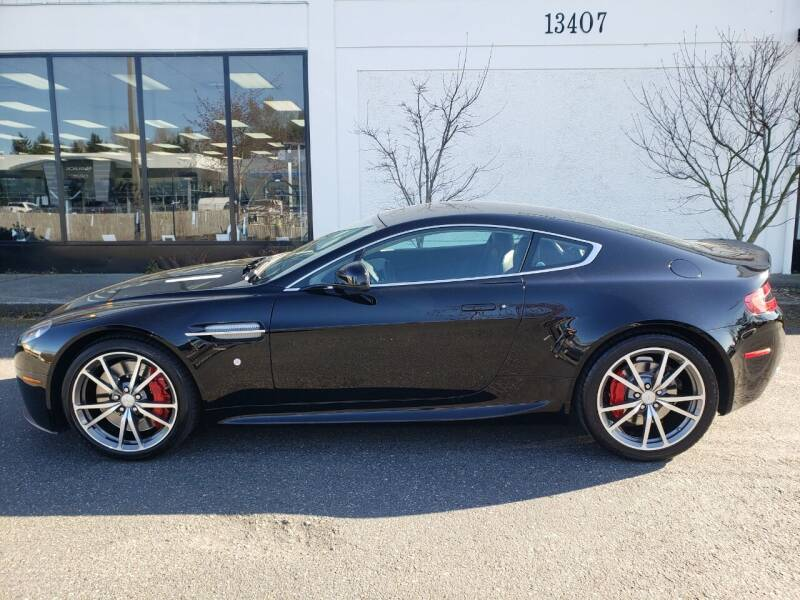 2013 Aston Martin V8 Vantage for sale at Painlessautos.com in Bellevue WA