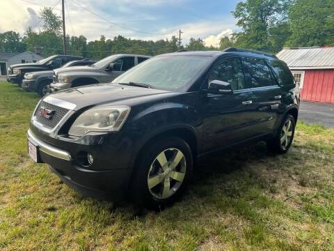 2012 GMC Acadia for sale at MBL Auto Woodford in Woodford VA
