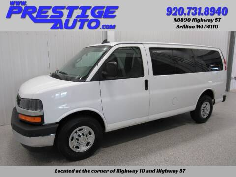 2017 Chevrolet Express Passenger for sale at Prestige Auto Sales in Brillion WI