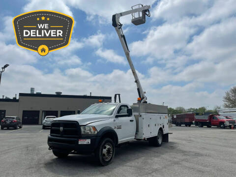 2013 RAM Ram Chassis 5500 for sale at Klean Motorsports in Skokie IL