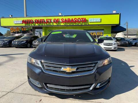 2014 Chevrolet Impala for sale at Auto Outlet of Sarasota in Sarasota FL