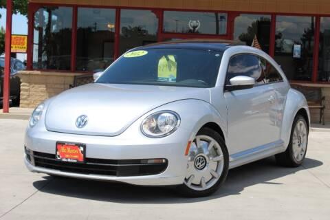 2012 Volkswagen Beetle for sale at ALIC MOTORS in Boise ID