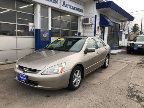 2003 Honda Accord for sale at Jack E. Stewart's Northwest Auto Sales, Inc. in Chicago IL