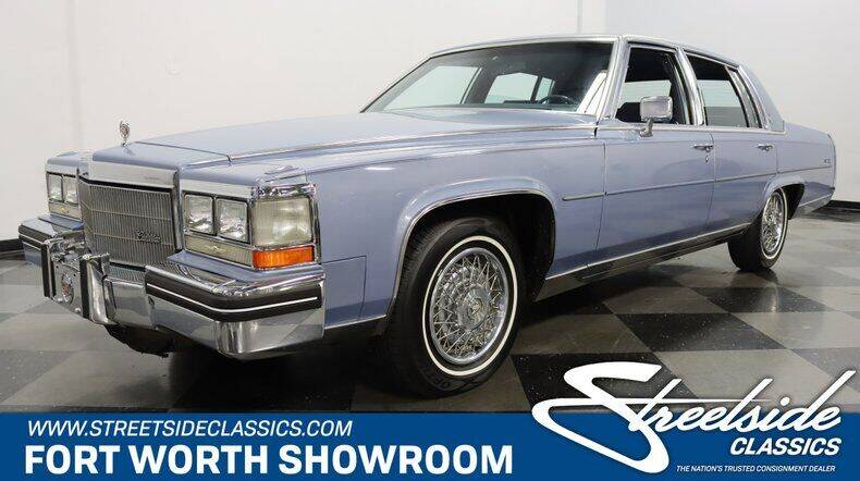 1984 Cadillac Fleetwood Brougham for sale in Fort Worth, TX