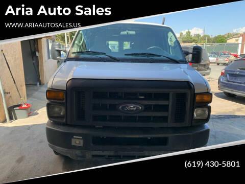 2010 Ford E-Series Cargo for sale at Aria Auto Sales in El Cajon CA