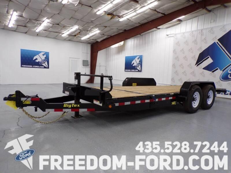 2021 Utility Trailer Big Tex 14TL - 22BK for sale at Freedom Ford Inc in Gunnison UT