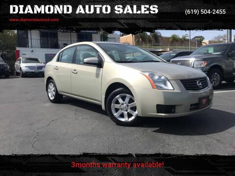 2007 Nissan Sentra for sale at DIAMOND AUTO SALES in El Cajon CA