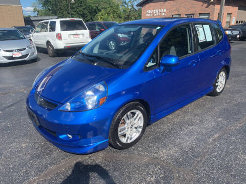 2008 Honda Fit for sale at Superior Used Cars Inc in Cuyahoga Falls OH