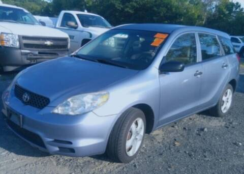 2003 Toyota Matrix for sale at GDT AUTOMOTIVE LLC in Hopewell NY