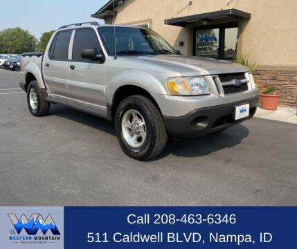 2005 Ford Explorer Sport Trac for sale at Western Mountain Bus & Auto Sales in Nampa ID