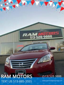 2014 Nissan Sentra for sale at RAM MOTORS in Cincinnati OH