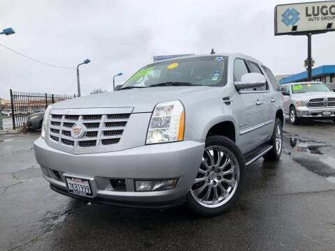 2013 Cadillac Escalade for sale at LUGO AUTO GROUP in Sacramento CA