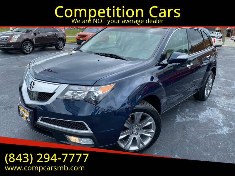 2012 Acura MDX for sale at Competition Cars in Myrtle Beach SC