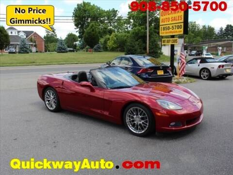 2005 Chevrolet Corvette for sale at Quickway Auto Sales in Hackettstown NJ
