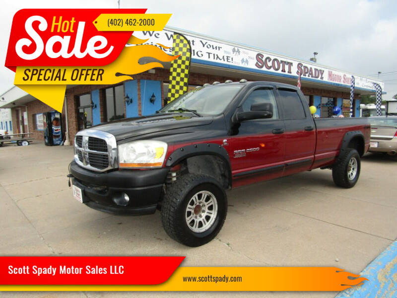 2006 Dodge Ram Pickup 2500 for sale at Scott Spady Motor Sales LLC in Hastings NE