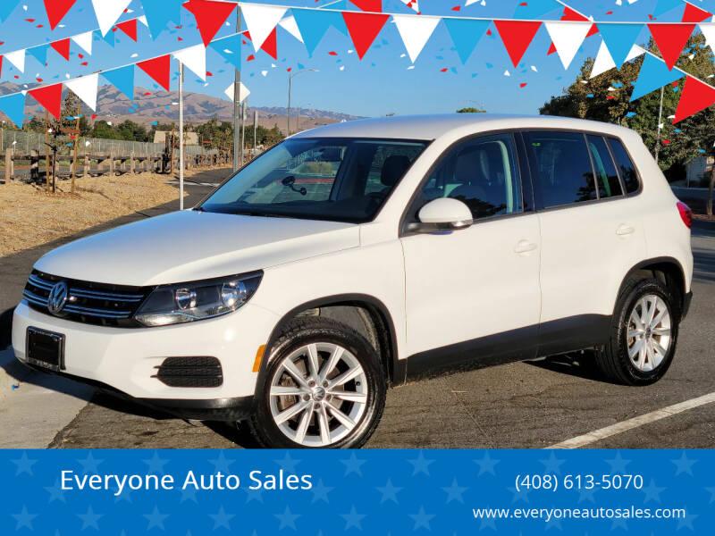 2014 Volkswagen Tiguan for sale at Everyone Auto Sales in Santa Clara CA