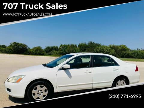 2007 Honda Accord for sale at 707 Truck Sales in San Antonio TX