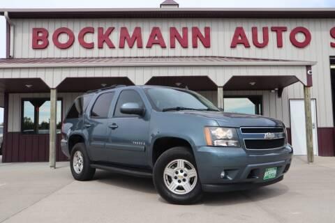 2008 Chevrolet Tahoe for sale at Bockmann Auto Sales in Saint Paul NE