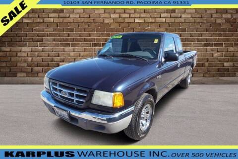 2003 Ford Ranger for sale at Karplus Warehouse in Pacoima CA