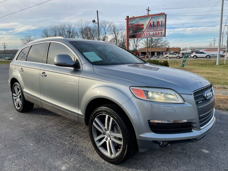 2008 Audi Q7 for sale at Albi Auto Sales LLC in Louisville KY