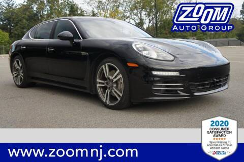 2014 Porsche Panamera for sale at Zoom Auto Group in Parsippany NJ