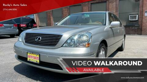 2003 Lexus LS 430 for sale at Rocky's Auto Sales in Worcester MA