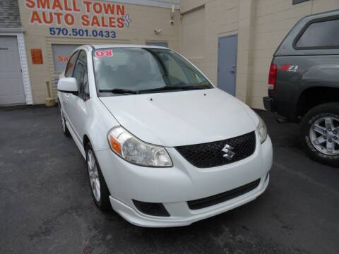 2008 Suzuki SX4 for sale at Small Town Auto Sales in Hazleton PA