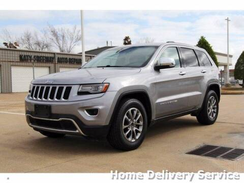 2014 Jeep Grand Cherokee for sale at JEFF HAAS MAZDA in Houston TX
