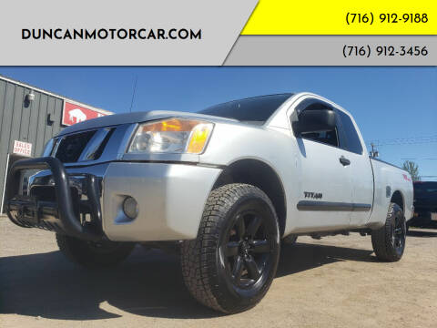 2010 Nissan Titan for sale at DuncanMotorcar.com in Buffalo NY