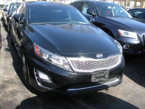 2016 Kia Optima Hybrid for sale at CLASSIC MOTOR CARS in West Allis WI