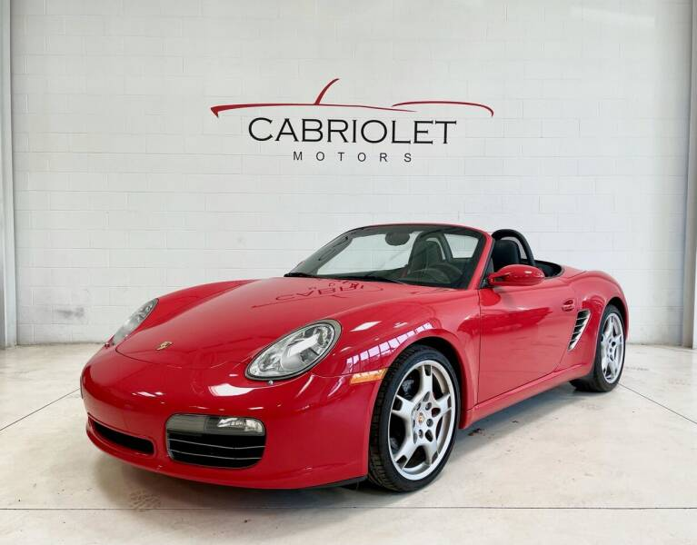 2006 Porsche Boxster for sale at Cabriolet Motors in Morrisville NC