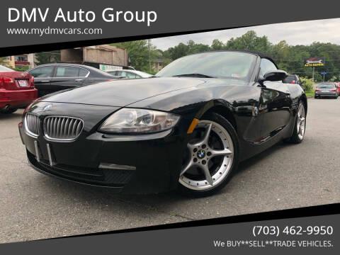 2007 BMW Z4 for sale at DMV Auto Group in Falls Church VA