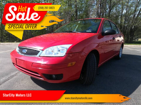 2007 Ford Focus for sale at StarCity Motors LLC in Garden City ID