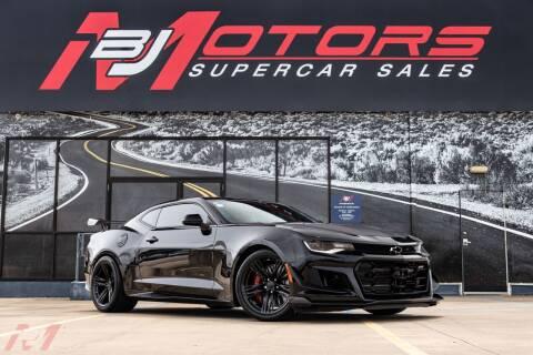 2018 Chevrolet Camaro for sale at BJ Motors in Tomball TX