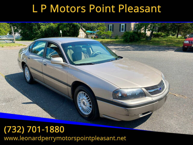 2001 Chevrolet Impala for sale at L P Motors Point Pleasant in Point Pleasant NJ