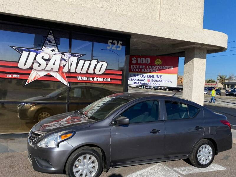2016 Nissan Versa for sale at USA Auto Inc in Mesa AZ