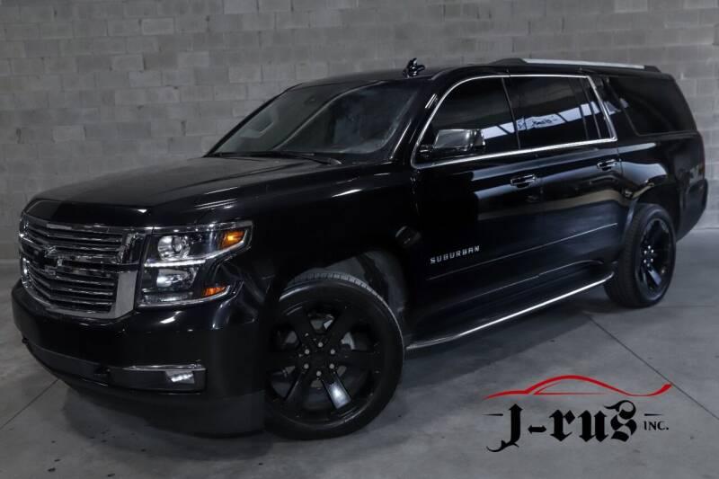 2017 Chevrolet Suburban for sale at J-Rus Inc. in Macomb MI