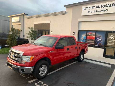 2014 Ford F-150 for sale at Bay City Autosales in Tampa FL