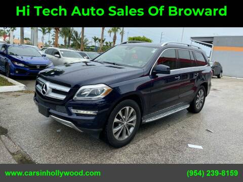 2013 Mercedes-Benz GL-Class for sale at Hi Tech Auto Sales Of Broward in Hollywood FL
