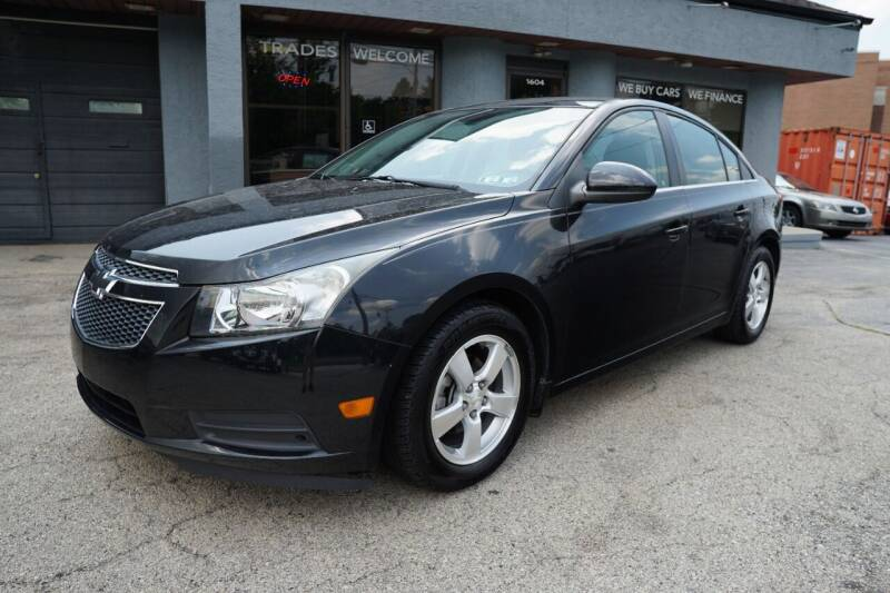 2012 Chevrolet Cruze for sale at PA Motorcars in Conshohocken PA