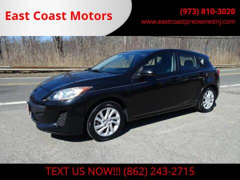 2012 Mazda MAZDA3 for sale at East Coast Motors in Lake Hopatcong NJ