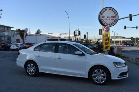 2017 Volkswagen Jetta for sale at San Mateo Auto Sales in San Mateo CA