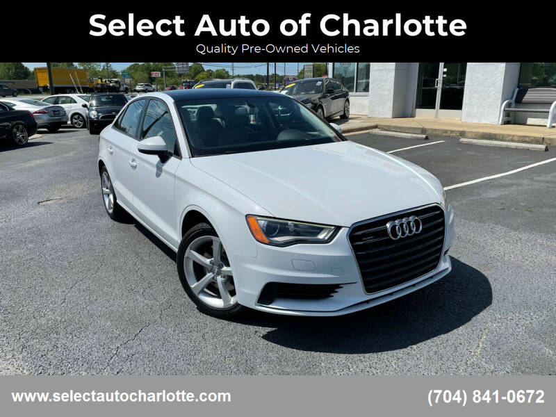 2015 Audi A3 for sale at Select Auto of Charlotte in Matthews NC
