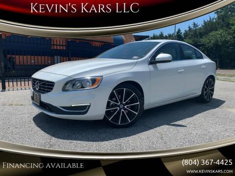 2016 Volvo S60 for sale at Kevin's Kars LLC in Richmond VA